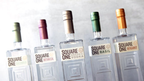 Keto-Mojo Square one Vodka