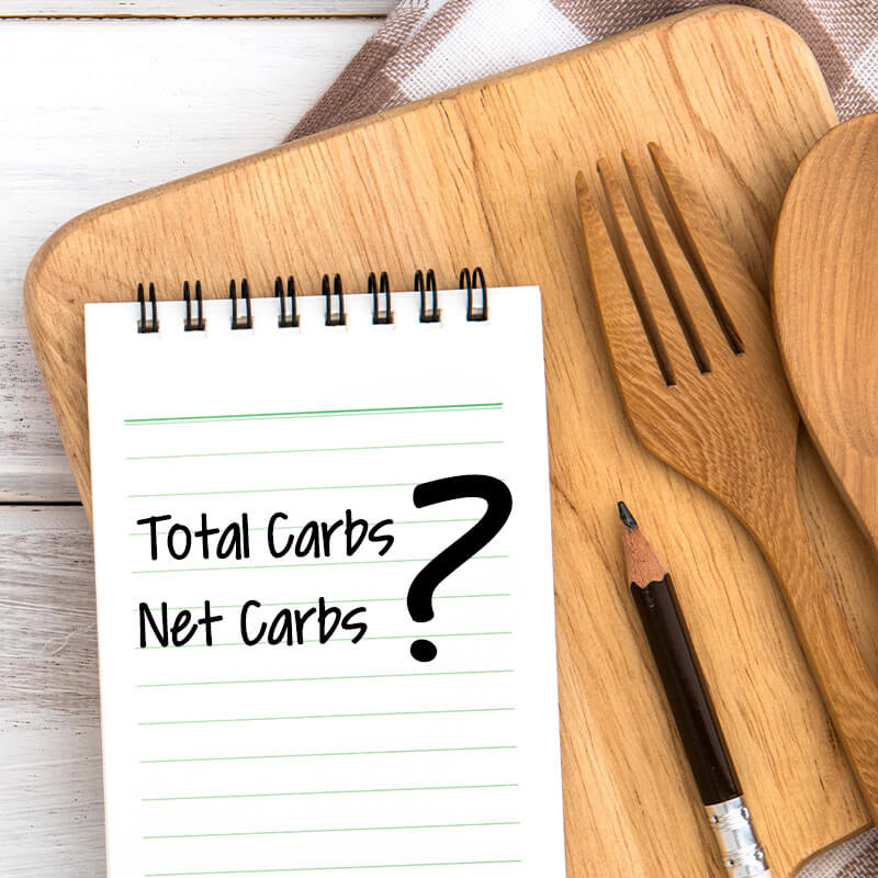 Difference Between Total Carbs and Net Carbs