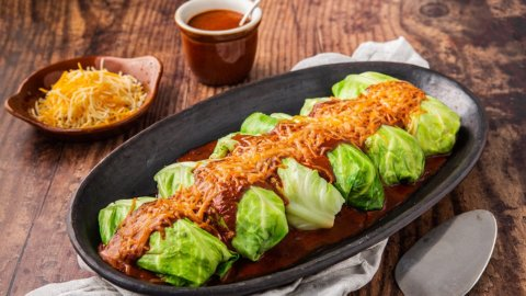 Keto Chicken Enchiladas Recipe
