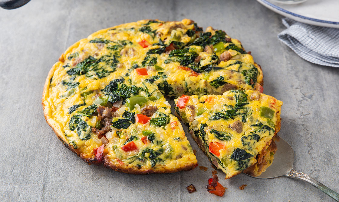 Keto Frittata with Sausage Recipe