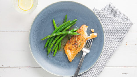 Keto Sole Meuniere with Green Beans Recipe