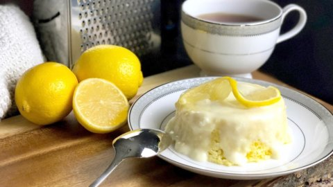 Keto Lemon Cake Recipe