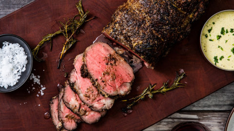 Keto Butter Basted Beef Tenderloin