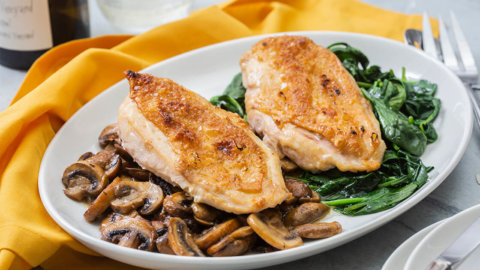 Keto Roasted Chicken Breast Recipe
