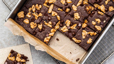 Keto Double Chocolate Brownies Recipe