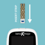 Glucose Strip in to Meter