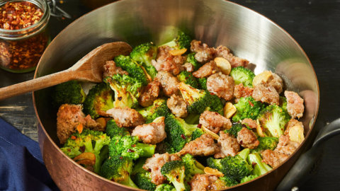 Keto Spicy Italian Sausage and Broccoli Recipe