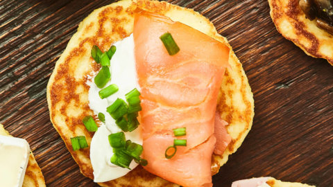 Smoked Salmon Blini Recipe