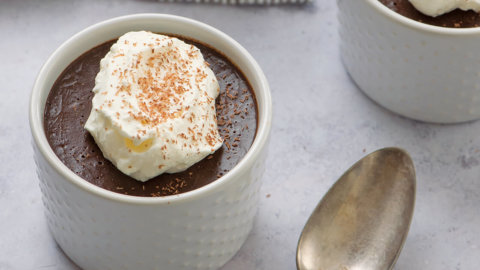Simple Chocolate Pots de Creme Recipe