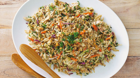 Thai Time Crunch Salad Recipe