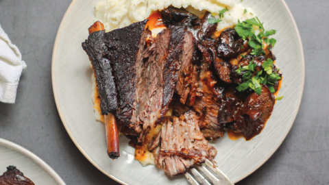 Braised Mushroom Shortribs Recipe
