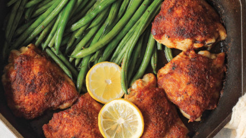 Cajun Chicken and Green Beans Recipe