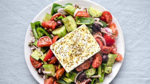 3:1 Keto Greek Salad