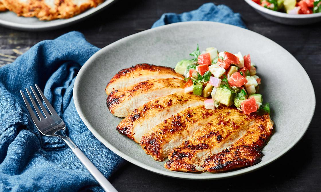 Keto Southwest Spiced Chicken Breast Recipe