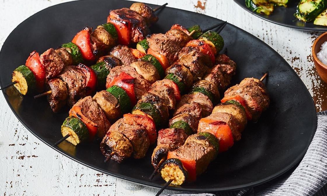 Keto Steak Kebabs